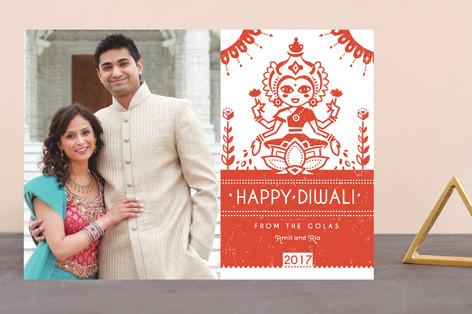 Graphic Lakshmi Diwali Cards