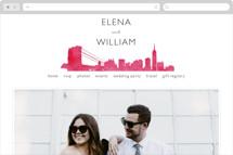 Skyline -New York Wedding Websites
