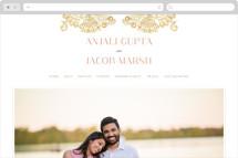 Modern Mehndi Wedding Websites