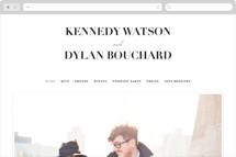 The Minimalist Wedding Websites