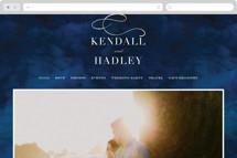 Indigo Sea Wedding Websites