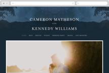 Coastal Nights Wedding Websites