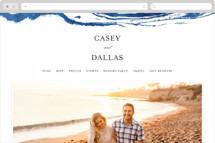 Shimmering Waves Wedding Websites
