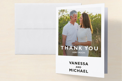 Desenfadado Anniversary Party Thank You Cards