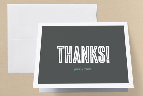 Come Together Anniversary Party Thank You Cards