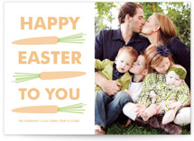 Easter Carrots Easter Cards