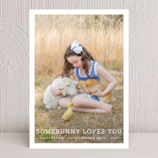 Somebunny Loves You Easter Cards