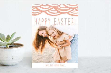 Watercolor Bunting Easter Cards