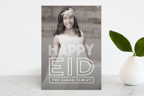 Bold Celebration Eid Cards