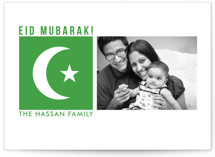 Crescent Moon Eid Cards