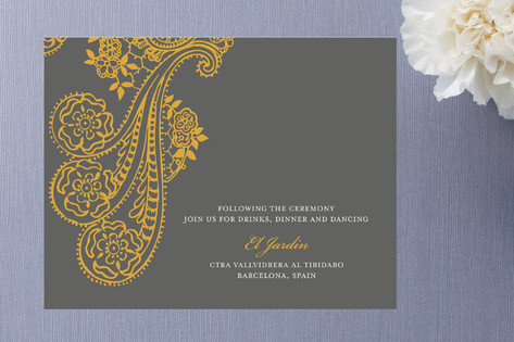 Spanish Lace Enclosure Cards