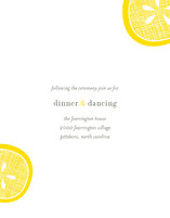 Lemon Drop Enclosure Cards