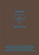 Sweetheart Engagement Party Invitations
