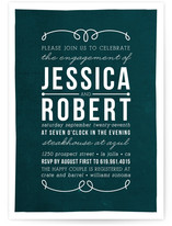 The In-Betweens Engagement Party Invitations