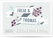 Enchanted Engagement Party Invitations