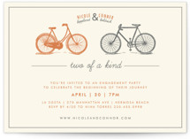 Two of a Kind Engagement Party Invitations
