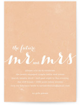 The Future Mr. &amp; Mrs. Engagement Party Invitations
