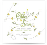 Garden Engagement Engagement Party Invitations