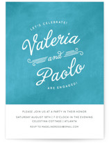 Gelato Engagement Party Invitations