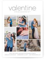 Valentine Celebration Engagement Party Invitations