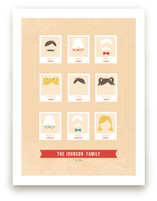 Modern Family Tree Art Prints