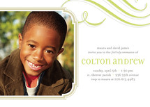 Cloud Nine First Holy Communion Invitations
