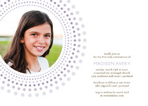 Joyful Bursts First Holy Communion Invitations