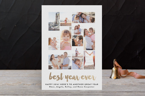 Best of the Best Foil-pressed Postcard