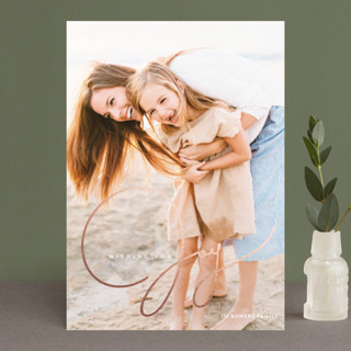 Glaze Foil-pressed Postcard
