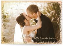 Holiday Frame Foil-pressed Postcard