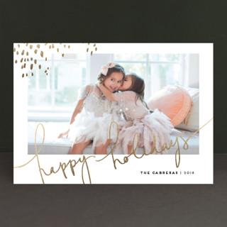 Let Love Shine Foil-pressed Postcard