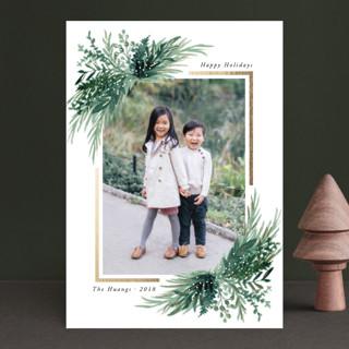 Eve Foil-pressed Postcard