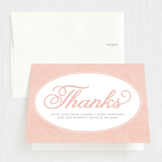 Sweet Tradition First Holy Communion Thank You Cards
