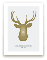 Deer Head Art Prints