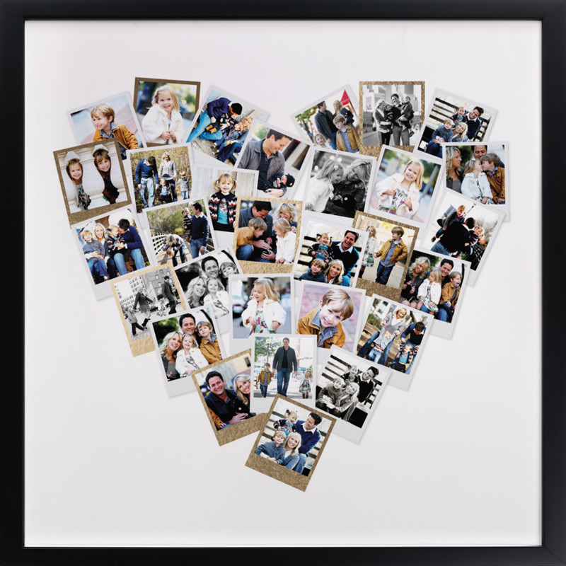 Love this heart photo collage