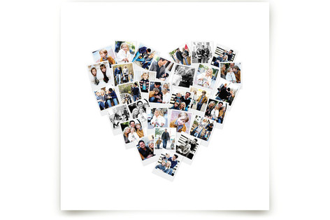 Heart Snapshot Mix® Art Prints