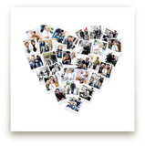 Heart Snapshot Mix® Photo Art Art Prints