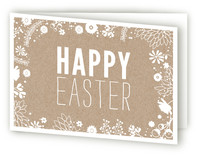 Easter Kraft Easter Greeting Cards