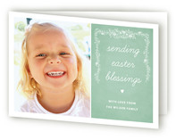 Chalkboard Easter Greeting Cards