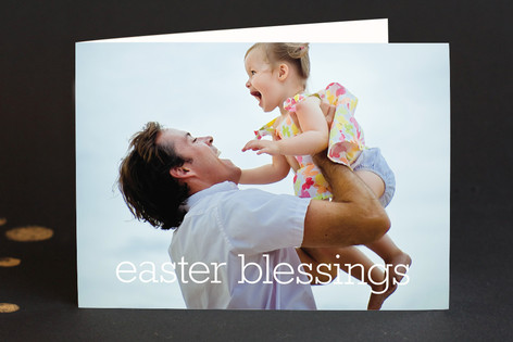 Simple Blessings Easter Greeting Cards