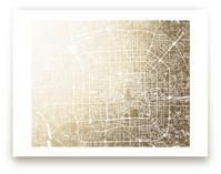 Beijing Map by Melissa Kelman