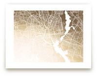 Providence Map by Melissa Kelman