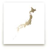 Japan Map by Jorey Hurley