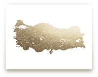 Turkey Map by Jorey Hurley