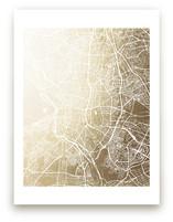 Madrid Map by Melissa Kelman