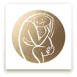 Every Mother Counts - Filled Foil-Pressed Wall Art