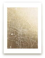 Raleigh Map by Melissa Kelman