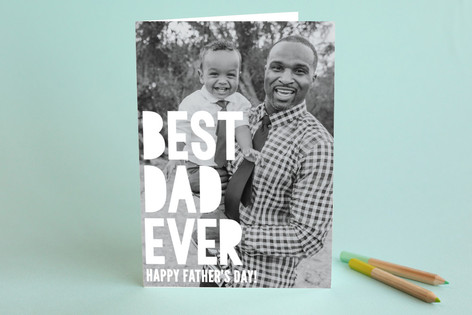 Best Dad Father's Day Greeting Cards