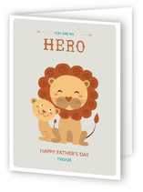 You are My Hero Father's Day Greeting Cards