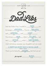 Dad•Libs by Lori Wemple